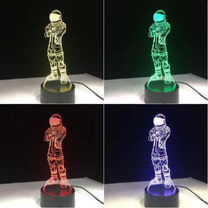 Fortnite Character V6 3D Illusion Lamp Night Light 3DL2641