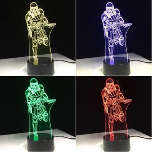 Star Wars Stormtrooper V5 3D Illusion Lamp Night Light 3DL2721