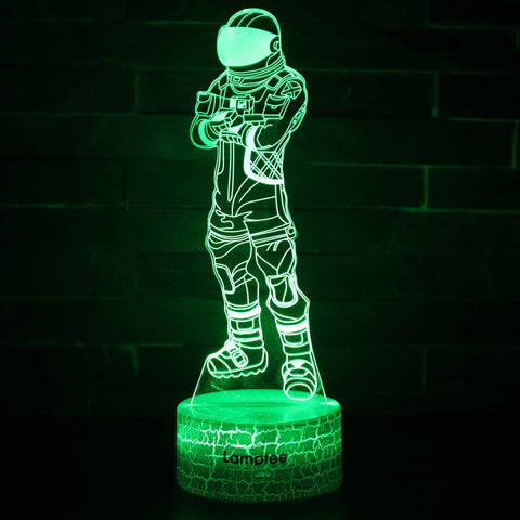 Anime Fortnite Astronaut 3D Illusion Lamp Night Light NL2802
