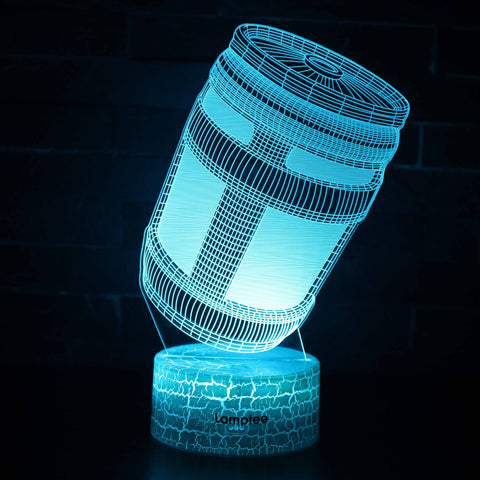 Anime Fortnite Chug Jug 3D Illusion Lamp Night Light NL2804