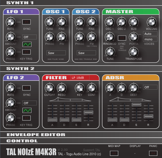 TAL-NoiseMaker synth