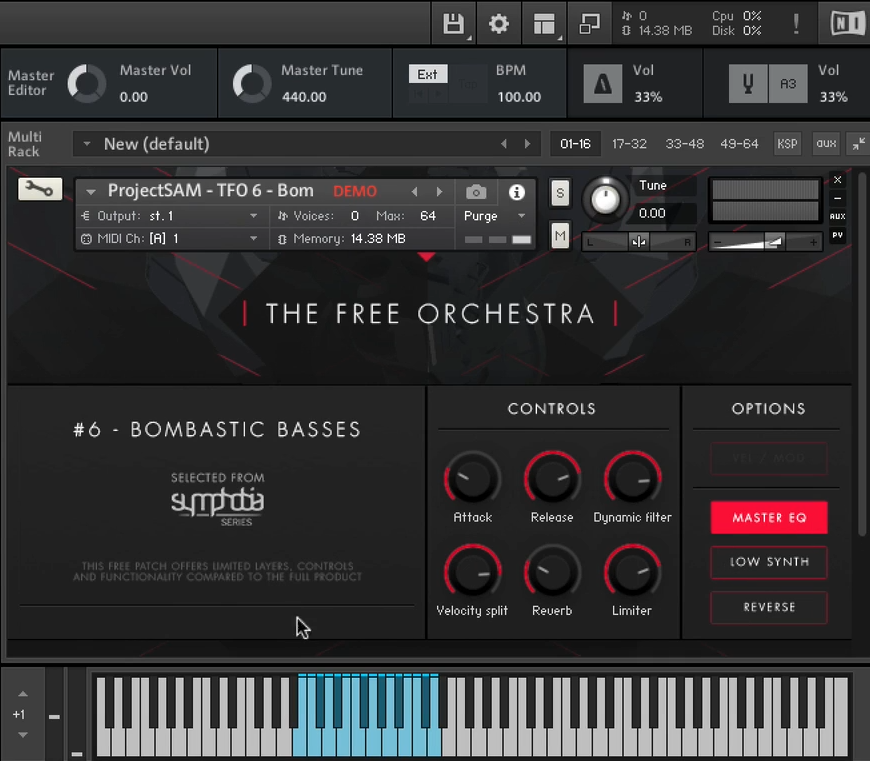 The Free Orchestra projectSAM