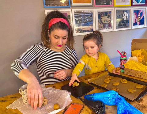 Baking With Children - now there's an idea!