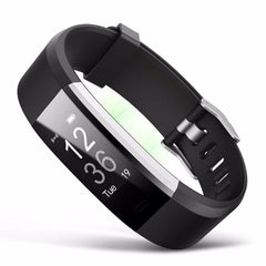ID115 plus Smart Wristband Bluetooth Bracelet Pedometer Fitness Tracker Watch Remote Camera Wristband with USB Charge