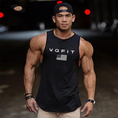 New Fashion Summer Gyms Fitness Bodybuilding Tank Tops Stringer Mens Workout Clothing Loose Open Side Sleeveless Shirts Vest