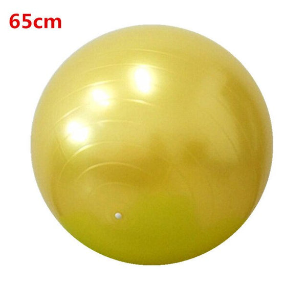 Pilates ball smooth yoga ball 45/55/65/75cm exercise ball with pump