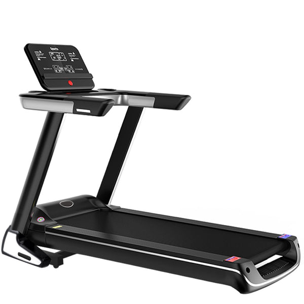 Folding Treadmill Electric 2.5HP Running Machine Wide Tread Belt With LCD Display and Cup Holder Easy Assembly For Indoor Sport