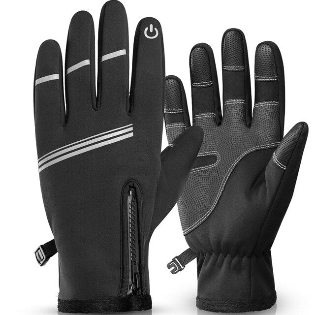 Windproof Outdoor Sport Gloves Touch Screen Mittens Biking Portable Running Bike Cycling Driving Dustproof Cycling Parts