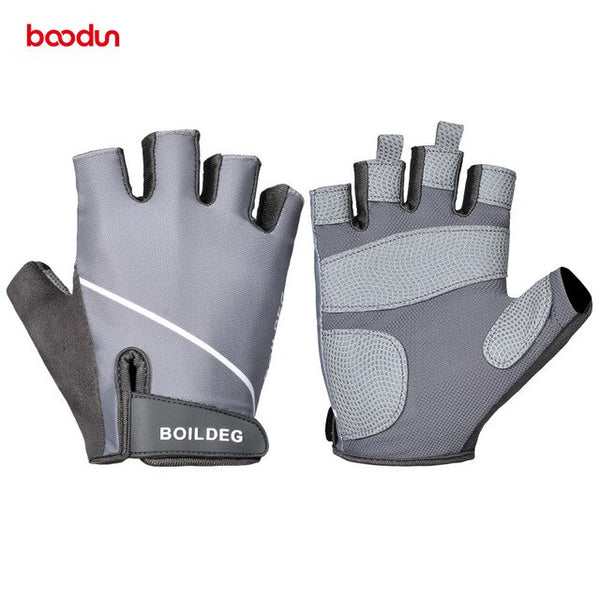 Professional Men's Antislip Gym Gloves Half Finger Weight Lifting Barbell Training Fitness Crossfit Bodybuilding Sport Gloves