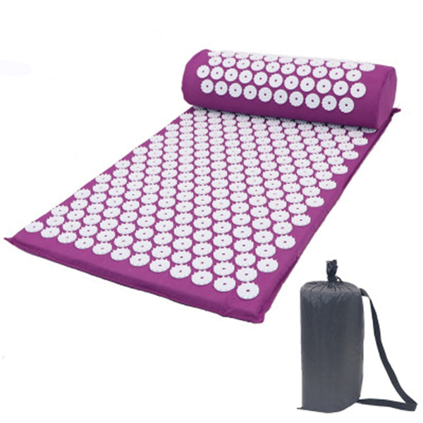 Massager Cushion Relieve Stress Back Body Pain Spike Mat Acupuncture Massage Yoga Mat