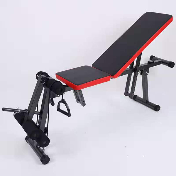 Multifunctional Sit up Portable Exercise Bench Flat Seat Muscle GYM Chair Folding Backboard for Foldable Weightlifting