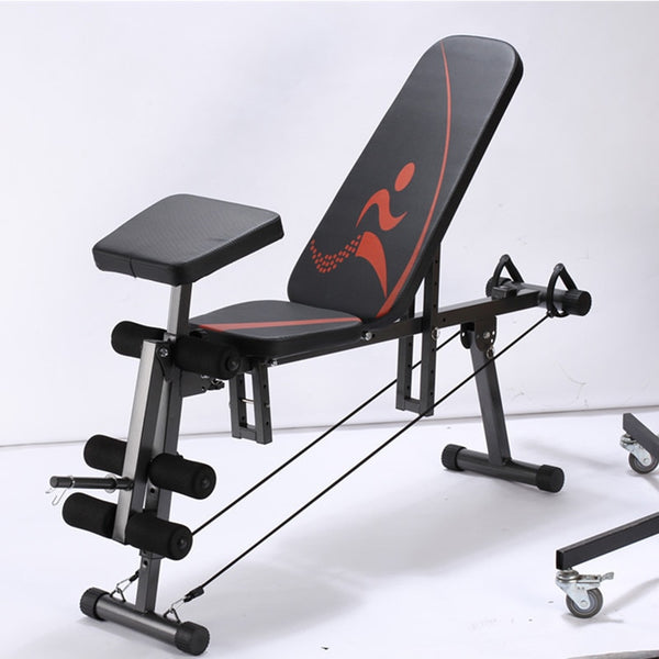 Men's Home Fitness High Quality Multifunctional Exercise Equipment Aerobic Exercise Dumbbell Bench Fitness Chair