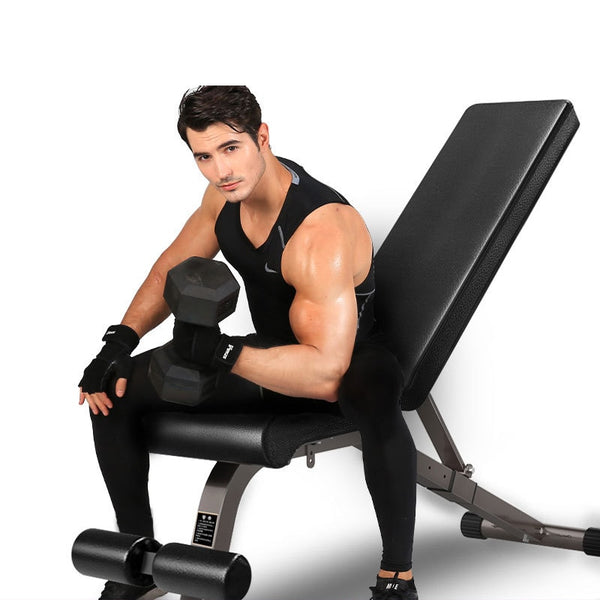Home Sports Equipment Fitness Chair Dumbbell Bench Multifunctional Bench Press Bench Abdominal Muscle Exercise Dumbbell Bench