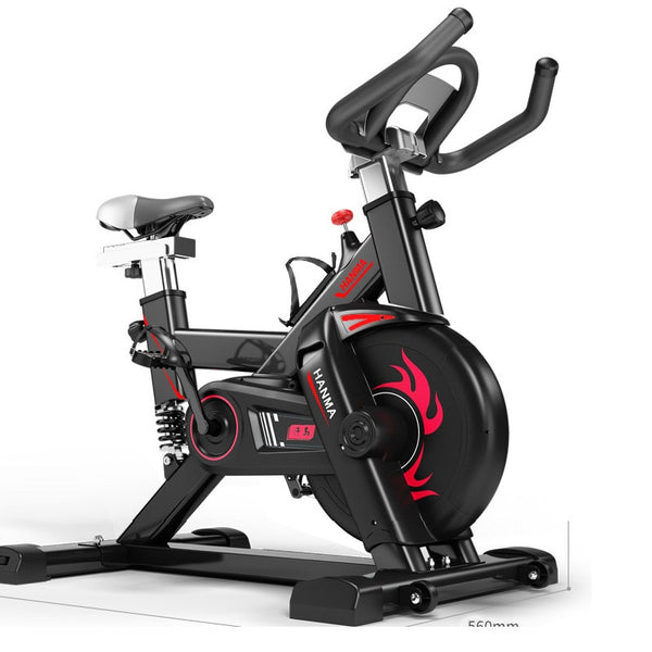 120KGS Electric Exercise Bike Cycling Machine Spinning Bicycle Training Exercise Bike Sport Equipment