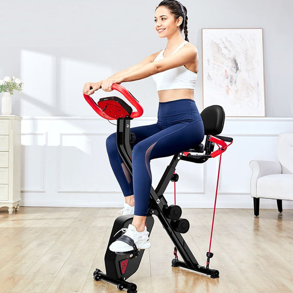 Spinning Bike Full Folding Exercise Bike Jogging Weight Loss Machine Fitness Equipment