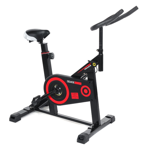 Exercise Bike Indoor Cycling Spinning Bike Stationary Training Bicycle for Home Cardio Gym Workout Fitness Equipment