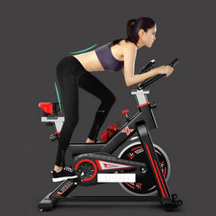 Indoor Cycling Bike Home Sport Trainer Speed Resistance Mute Smart Exercise Bike Lose Weight Fitness Equipment Load 250kg