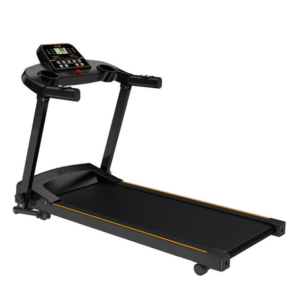 durable Exercise Treadmill with Handrail Ultra-thin Foldable Running Walkingpad With LCD Display Indoor Mute Fitness Equipment
