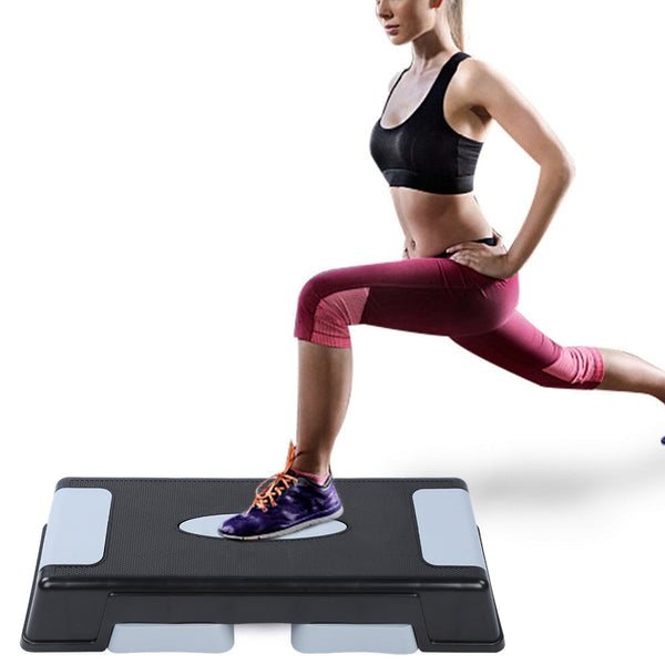 Fitness Stepper New Domestic Adjustable Multilayer Fitness Stepper Bodybuilding Footboard Aerobic Step Balancing Board Equipment