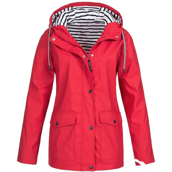 2020 Women's Rain Jacket Wind Hood Women Jacket for Women