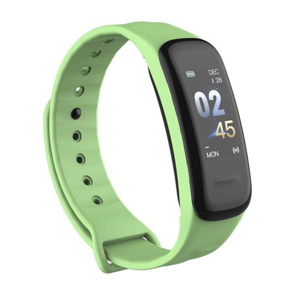 C1 Plus Color Screen Smart Wristband Bluetooth 4.0 Passometer Heart Rate Monitoring Sports Smartband Bracket