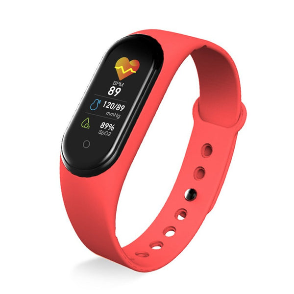 M5 Smart Band Portable Support Monitor Pedometer Heart Rate Fitness Tracker Smart Bracelet Smart Wristband