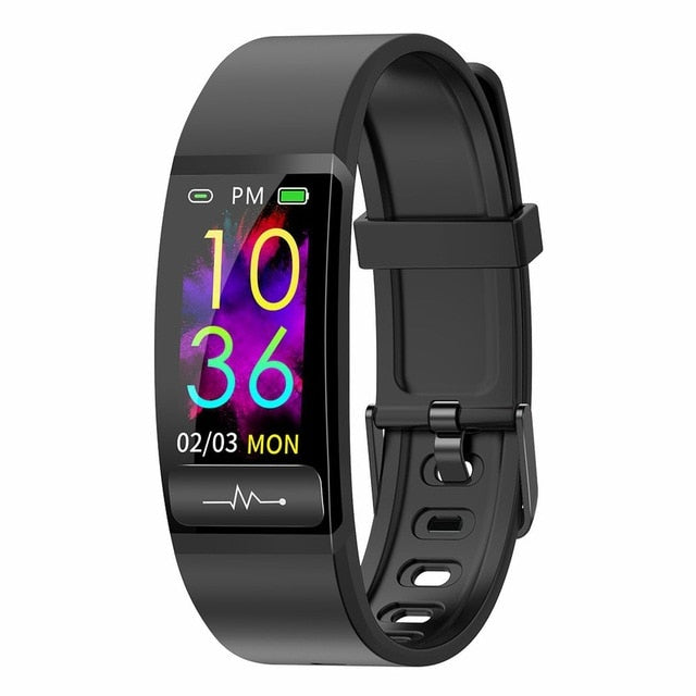 M8 Men Women Smart band Pedometer Bracelet Step Counter Fitness Bracelet PEG+ECG Smart Wristband Watch Waterproof