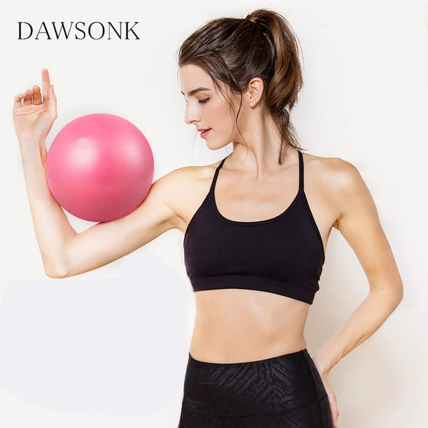 Yoga Ball Exercise Ball Bodybuilding Weight Loss Fitness Gymnastics Sports Swiss Ball Children's Balance Indoor Training 25cm