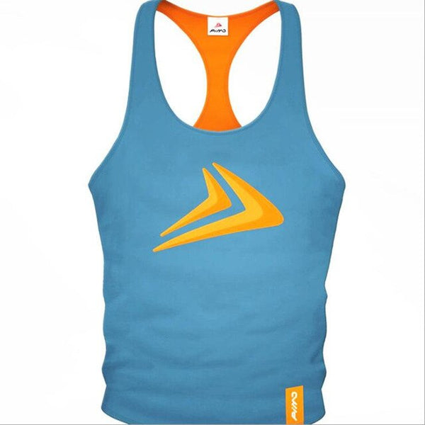 Summer Quick Drying Training Sport Tank Top Gym Fitness Bodybuilding Sleeveless Shirt Men Stringer Singlet Undershirt Clothing
