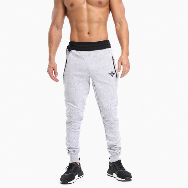 New Body Men Gyms Pants Casual Elastic Cotton Mens Fitness Workout Pants Skinny,Sweatpants Trousers Jogger Pants Engineers Pants