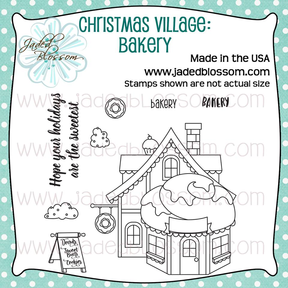 Christmas Village Bakery
