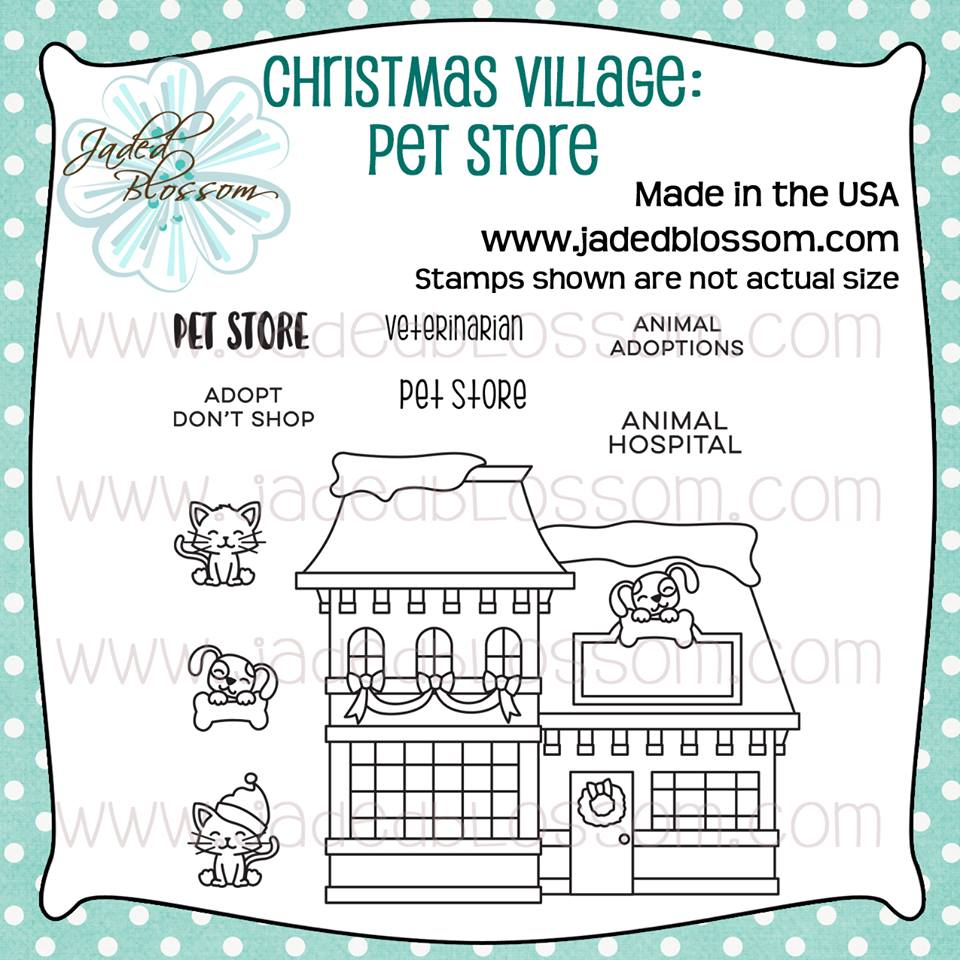 Christmas Village Pet Store