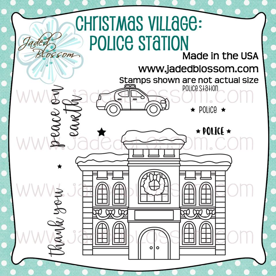 Christmas Village Police Station