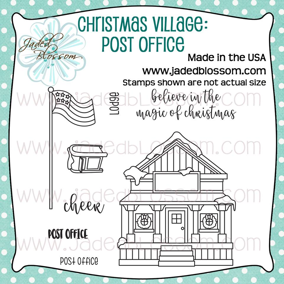 Christmas Village Post Office