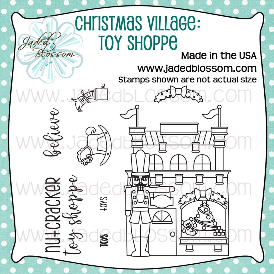 Christmas Village Toy Shop
