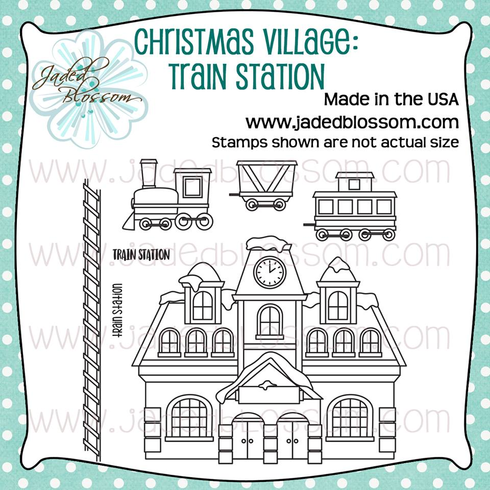 Christmas Village Train Station