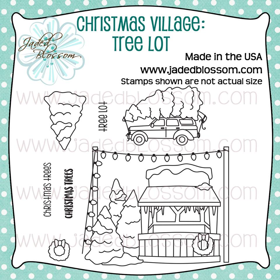 Christmas Village Tree Lot
