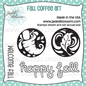 Fall Coffee Art