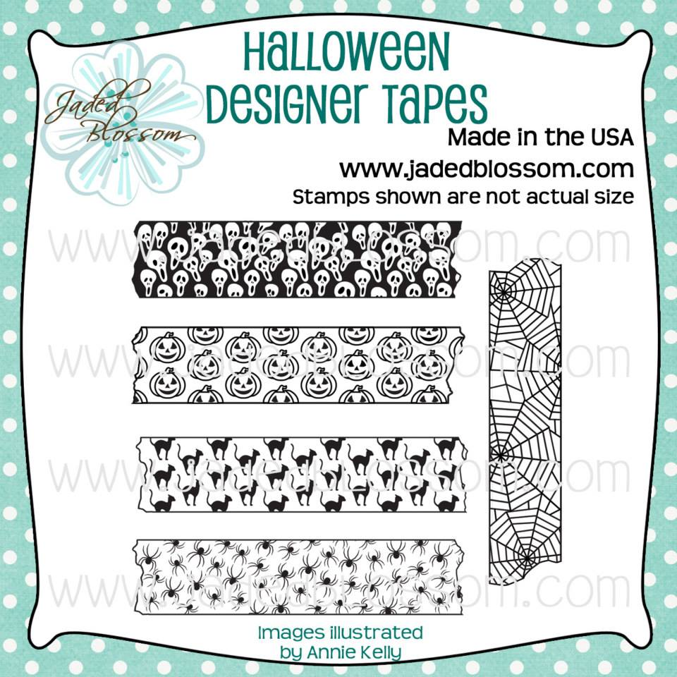 Halloween Designer Tapes