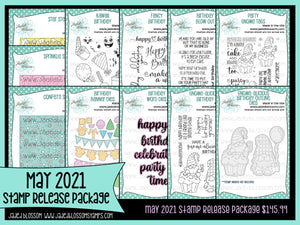May 2021 Stamp Release Package