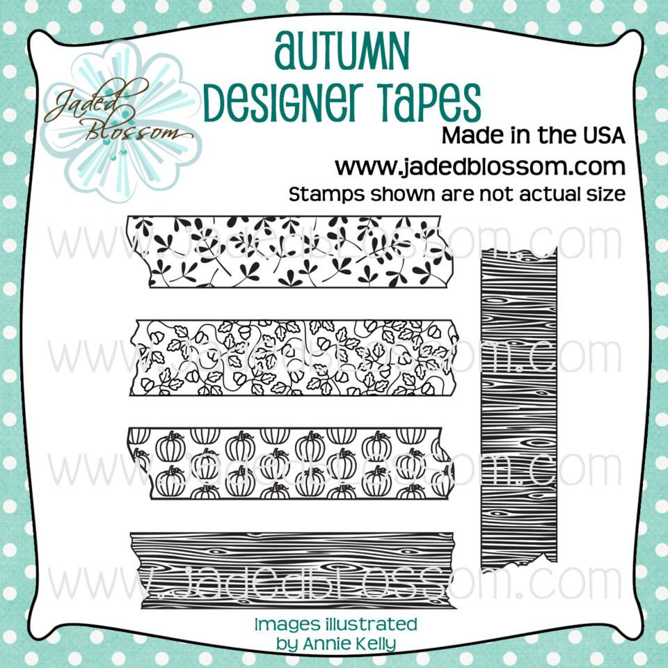 Autumn Designer Tapes