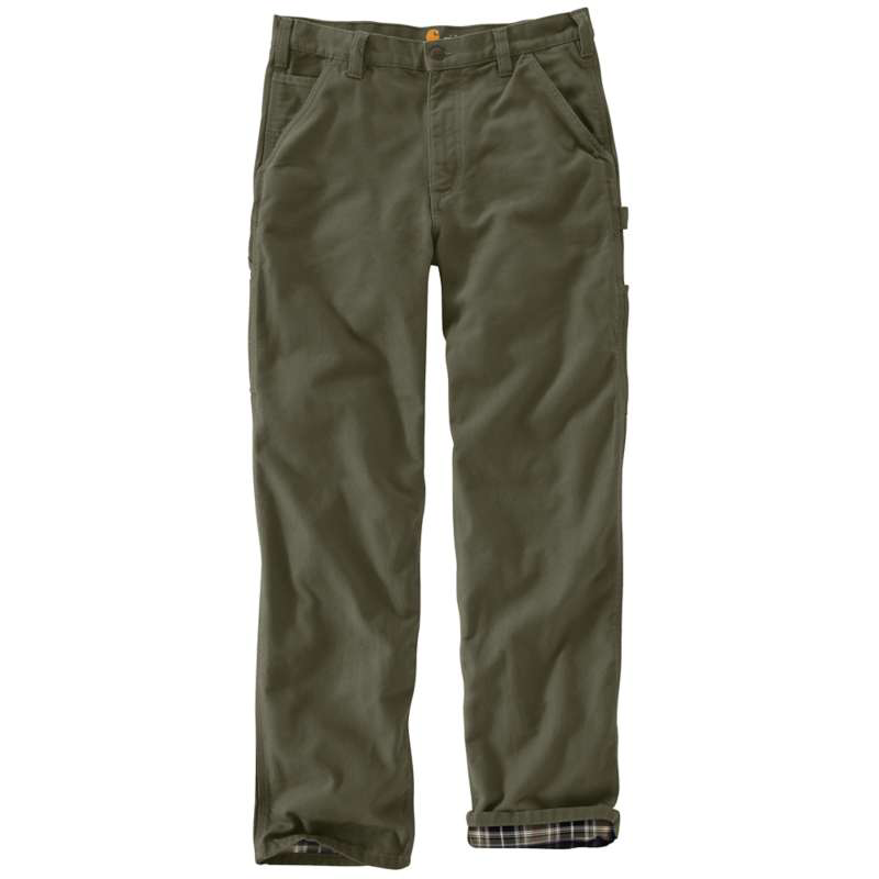 CARHARTT B111 MOSS - FLANNEL LINED DUCK PANT