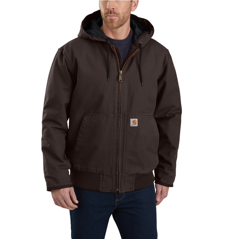 CARHARTT WASHED DUCK INSULATED ACTIVE JAC 104050