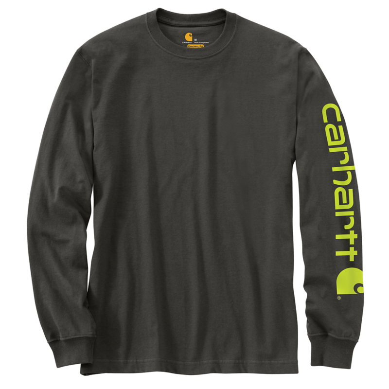 CARHARTT WORKWEAR LONG SLEEVE GRAPHIC LOGO T SHIRT K231