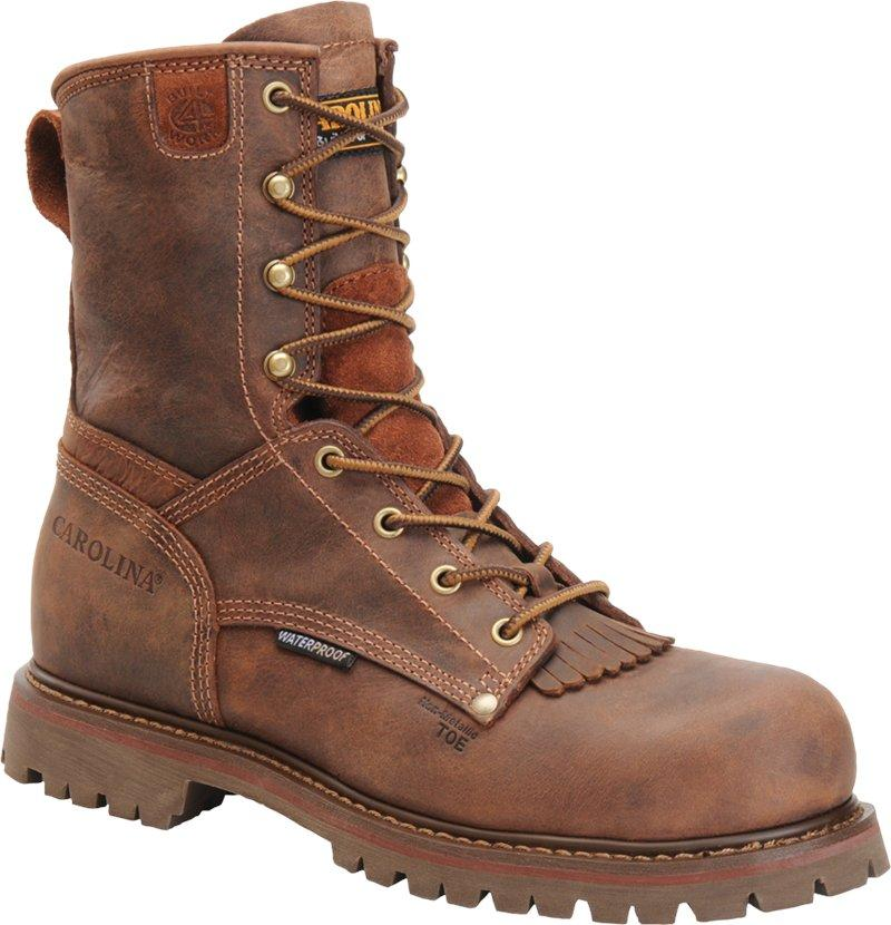 "CAROLINA CA8528 8"" WATERPROOF COMPOSITE TOE WORK BOOT"