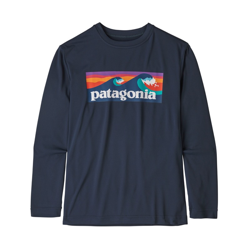 PATAGONIA BOYS' LONG SLEEVED CAPILENE COOL DAILY T SHIRT 62395