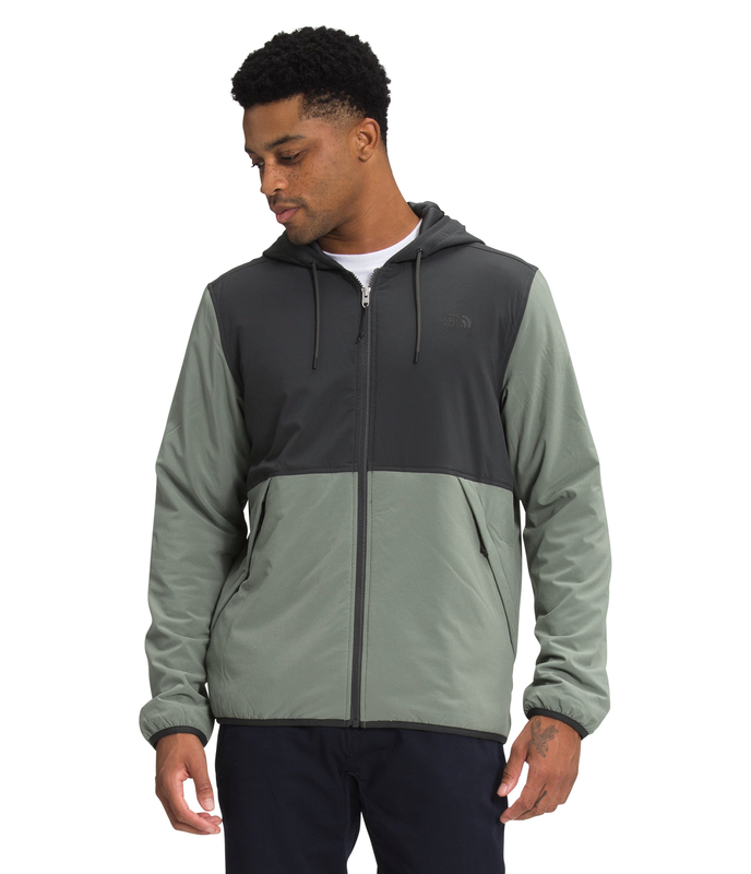 THE NORTH FACE MEN'S MOUNTAIN SWEATSHIRT FULL ZIP HOODIE NF0A4QZD