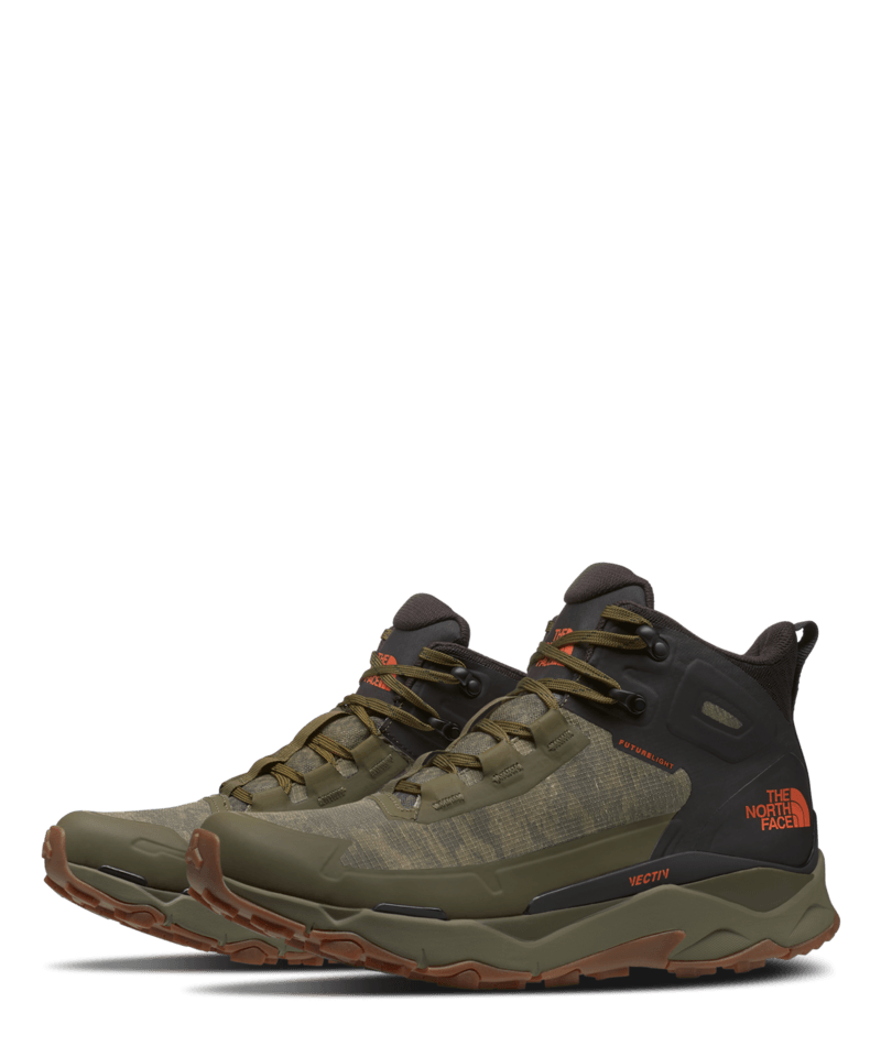 THE NORTH FACE MEN'S VECTIV EXPLORIS MID FUTURELIGHT IN MILITARY OLIVE