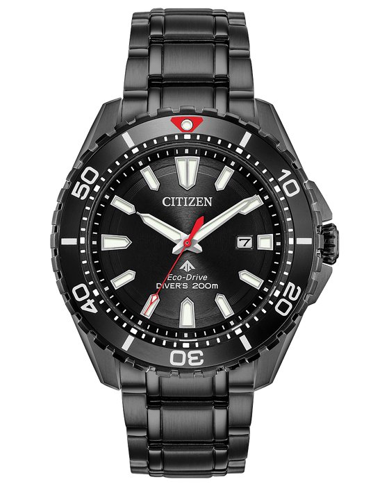 Citizen Promaster Diver Eco-Drive Black Dial Men's Watch BN0195-54E