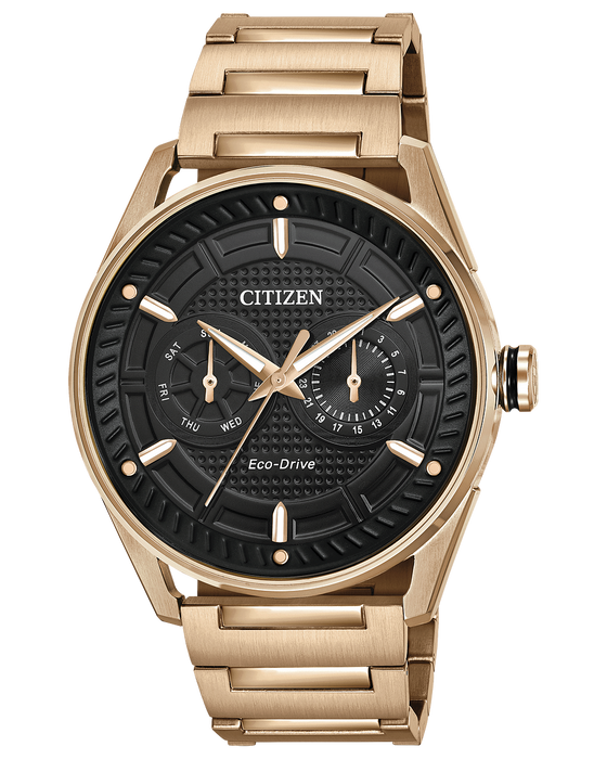 Citizen CTO Black Dial Men's Watch BU4023-54E